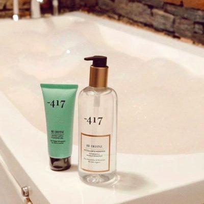 Minus 417 Re-define τα απόλυτα καθαριστικά για ένα καθαρό και φρέσκο δέρμα